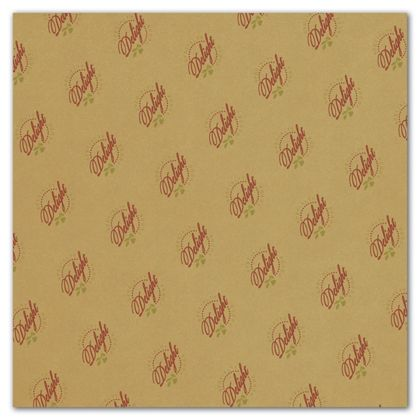 Carmel Food Grade Tissue Paper 2 Colors/1 Side, 15 x 15""