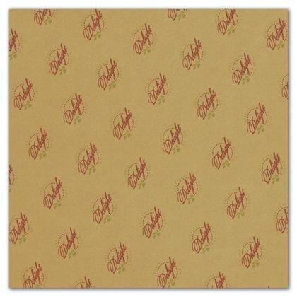 "Carmel Food Grade Tissue Paper 2 Colors/1 Side, 15 x 15"""