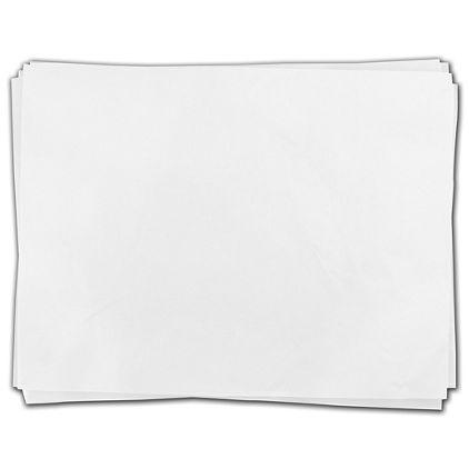"""White Flat Tissue, 18 x 27"""""""