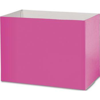 Fuchsia Gift Basket Boxes, 10 1/4 x 6 x 7 1/2