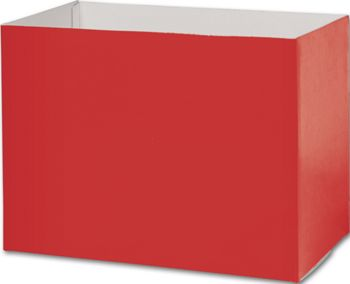 Red Gift Basket Boxes, 10 1/4 x 6 x 7 1/2
