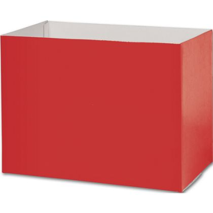 Red Gift Basket Boxes, 10 1/4 x 6 x 7 1/2""