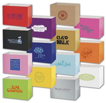 Gift Basket Boxes, Hot Stamp, 10 1/4 x 6 x 7 1/2