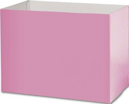 Light Pink Gift Basket Boxes, 10 1/4 x 6 x 7 1/2
