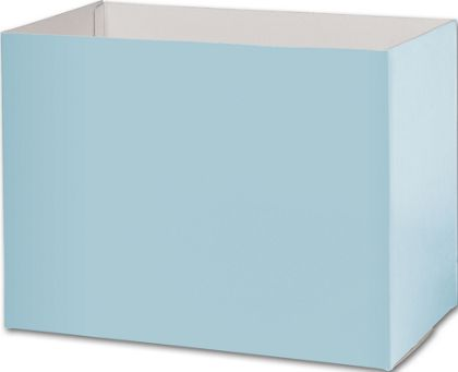 Light Blue Gift Basket Boxes, 10 1/4 x 6 x 7 1/2
