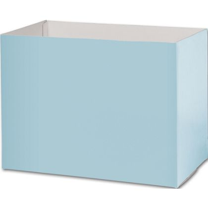 Light Blue Gift Basket Boxes, 10 1/4 x 6 x 7 1/2