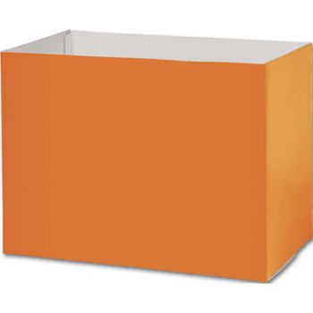 Orange Gift Basket Boxes, 10 1/4 x 6 x 7 1/2