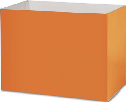 "Orange Gift Basket Boxes, 10 1/4 x 6 x 7 1/2"""