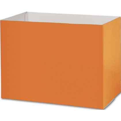 Orange Gift Basket Boxes, 10 1/4 x 6 x 7 1/2""