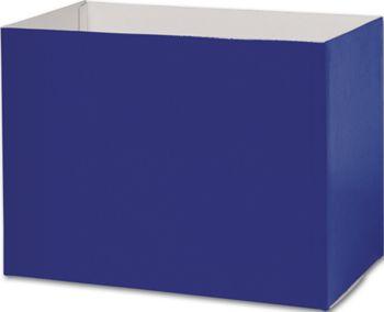 Navy Blue Gift Basket Boxes, 10 1/4 x 6 x 7 1/2