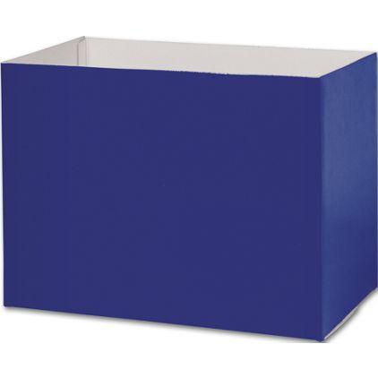 "Navy Blue Gift Basket Boxes, 10 1/4 x 6 x 7 1/2"""