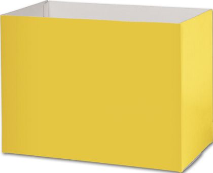 Yellow Gift Basket Boxes, 10 1/4 x 6 x 7 1/2""