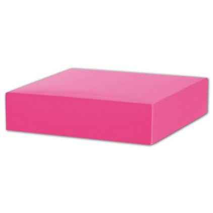 "Fuchsia Gift Box Lids, 6 x 6 x 1 1/2"""