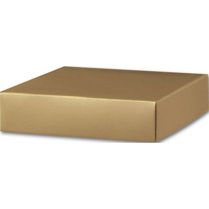 Gold Gift Box Lids, 6 x 6 x 1 1/2""