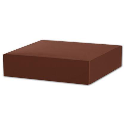 "Chocolate Gift Box Lids, 6 x 6 x 1 1/2"""