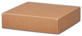 Kraft Gift Box Lids, 6 x 6 x 1 1/2