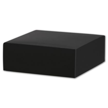 Black Gift Box Lids, 4 x 4 x 1 1/2""