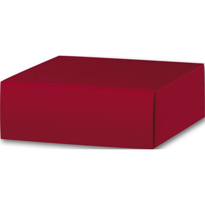 Red Gift Box Lids, 4 x 4 x 1 1/2""