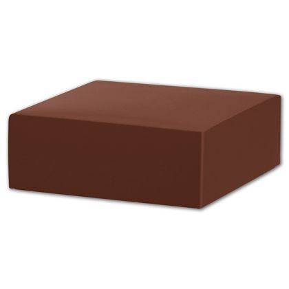 Chocolate Gift Box Lids, 4 x 4 x 1 1/2""
