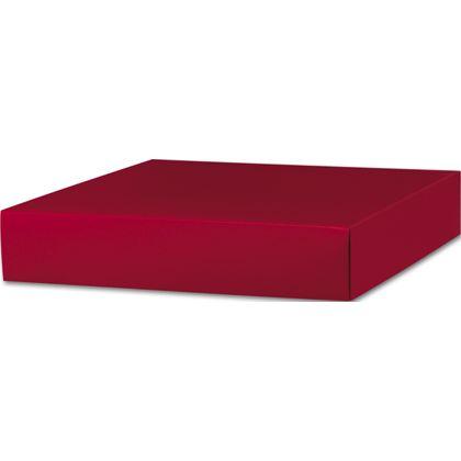 "Red Gift Box Lids, 10 x 10 x 2"""