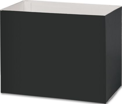 Black Gift Basket Boxes, 8 1/4 x 4 3/4 x 6 1/4""