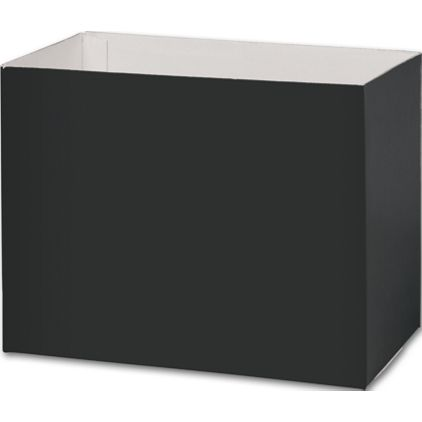 """Black Gift Basket Boxes, 8 1/4 x 4 3/4 x 6 1/4"""""""