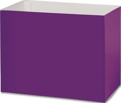 Purple Gift Basket Boxes, 8 1/4 x 4 3/4 x 6 1/4""
