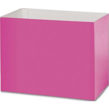 Fuchsia Gift Basket Boxes, 8 1/4 x 4 3/4 x 6 1/4