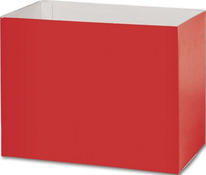 Red Gift Basket Boxes, 8 1/4 x 4 3/4 x 6 1/4""
