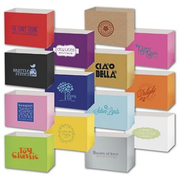 Gift Basket Boxes, Hot Stamp, 8 1/4 x 4 3/4 x 6 1/4
