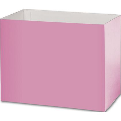 Light Pink Gift Basket Boxes, 8 1/4x4 3/4x6 1/4