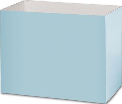 Light Blue Gift Basket Boxes, 8 1/4x4 3/4x6 1/4