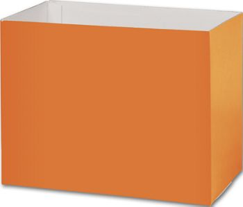 Orange Gift Basket Boxes, 8 1/4 x 4 3/4 x 6 1/4