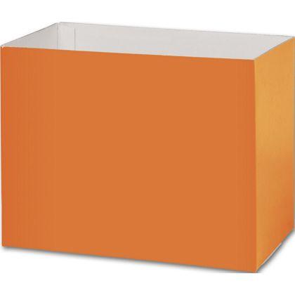 "Orange Gift Basket Boxes, 8 1/4 x 4 3/4 x 6 1/4"""
