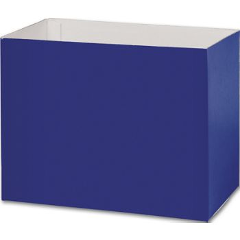 Navy Blue Gift Basket Boxes, 8 1/4x4 3/4x6 1/4