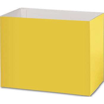 Yellow Gift Basket Boxes, 8 1/4 x 4 3/4 x 6 1/4'