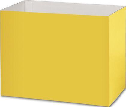 Yellow Gift Basket Boxes, 8 1/4 x 4 3/4 x 6 1/4'