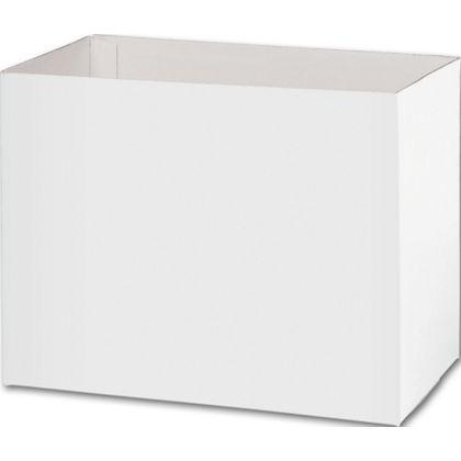 "White Gift Basket Boxes, 8 1/4"" x 4 3/4 x 6 1/4"""