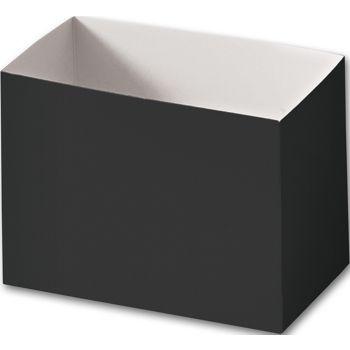 Black Gift Basket Boxes, 6 3/4 x 4 x 5