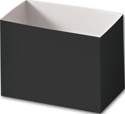 Black Gift Basket Boxes, 6 3/4 x 4 x 5""