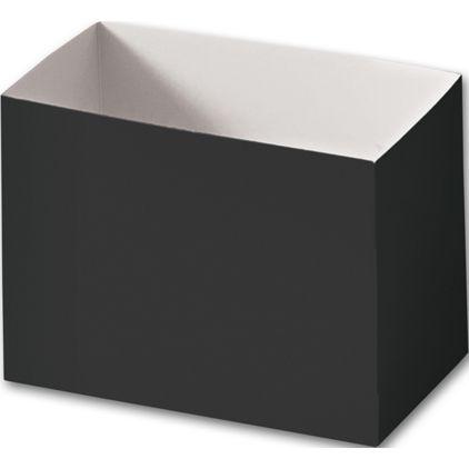 """Black Gift Basket Boxes, 6 3/4 x 4 x 5"""""""