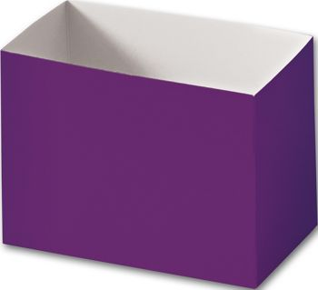 Purple Gift Basket Boxes, 6 3/4 x 4 x 5