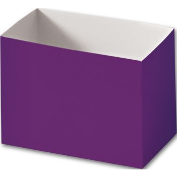 Purple Gift Basket Boxes, 6 3/4 x 4 x 5""