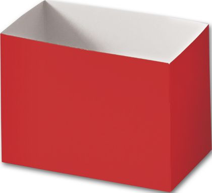 Red Gift Basket Boxes, 6 3/4 x 4 x 5""