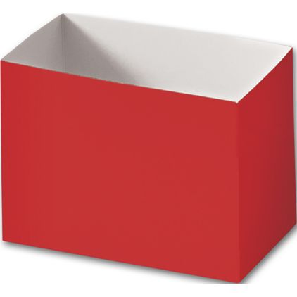 """Red Gift Basket Boxes, 6 3/4 x 4 x 5"""""""