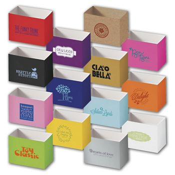 Gift Basket Boxes, Hot Stamp, 6 3/4 x 4 x 5