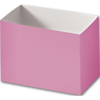 Light Pink Gift Basket Boxes, 6 3/4 x 4 x 5
