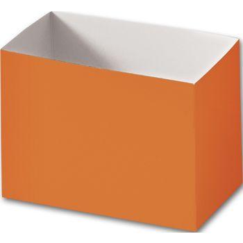 "Orange Gift Basket Boxes, 6 3/4 x 4 x 5"""