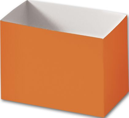 Orange Gift Basket Boxes, 6 3/4 x 4 x 5""