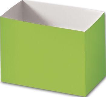 Lime Green Gift Basket Boxes, 6 3/4 x 4 x 5